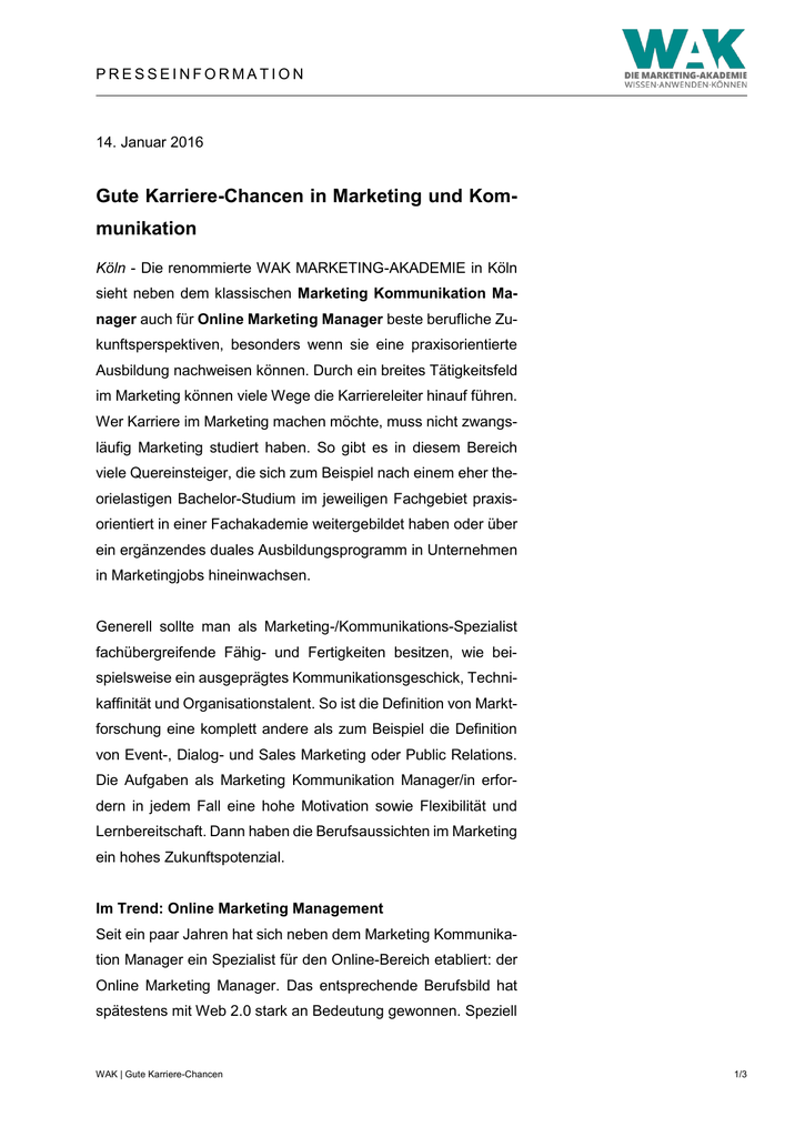 Großartig Lebenslauf Für Das Marketing Ideen - Entry Level Resume ...