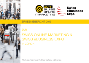 ErgEbnisbEricht 2015 - SWISS ONLINE MARKETING & SWISS