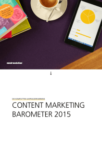 content marketing barometer 2015