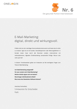 E-Mail-Marketing