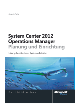 Microsoft System Center 2012 Operations Manager