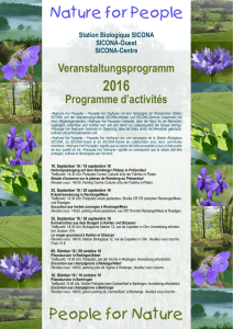 2016 People for Nature Nature for People