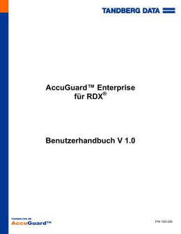 AccuGuard™ Enterprise für RDX