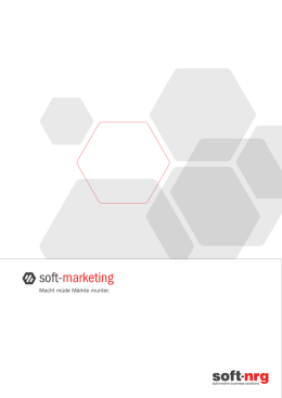 soft-marketing - soft-nrg Development GmbH
