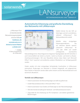 LANsurveyor - SolarWinds