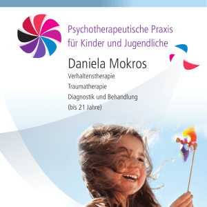 Daniela Mokros - kindertherapie