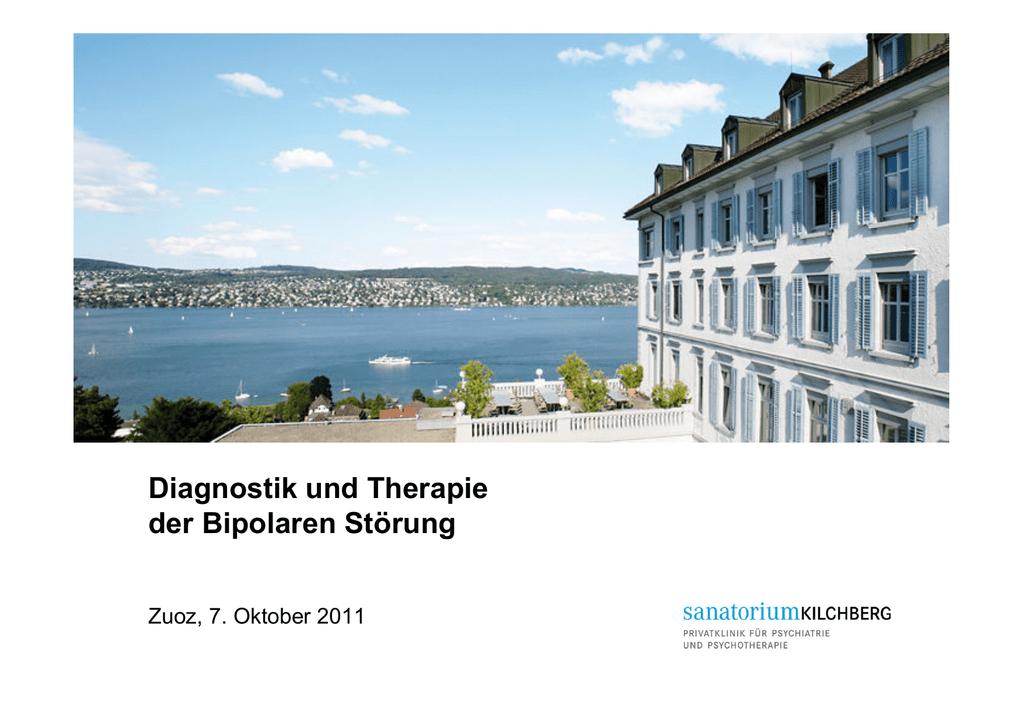 Behandlungsempfehlungen für bipolare Störungen