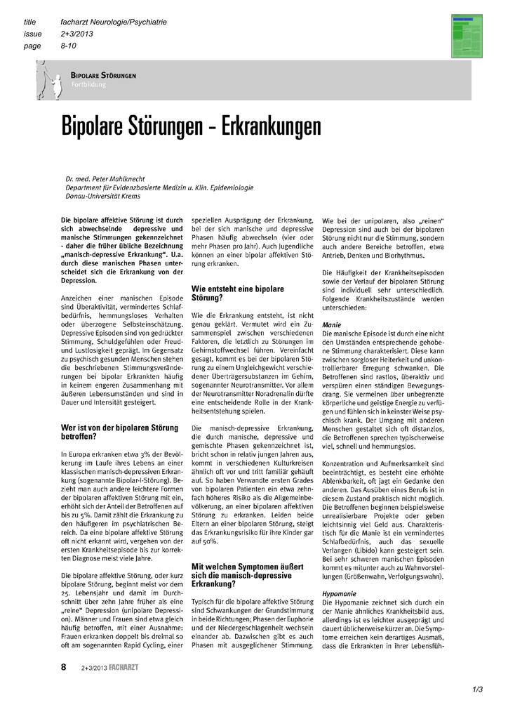 Bipolare störung andere kennenlernen [PUNIQRANDLINE-(au-dating-names.txt) 25