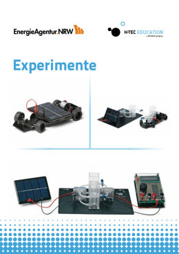 Experimente - Fuel Cell Box