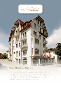 Haus National Weggis