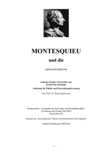Charles-Louis de Secondat MONTESQUIEU - PH