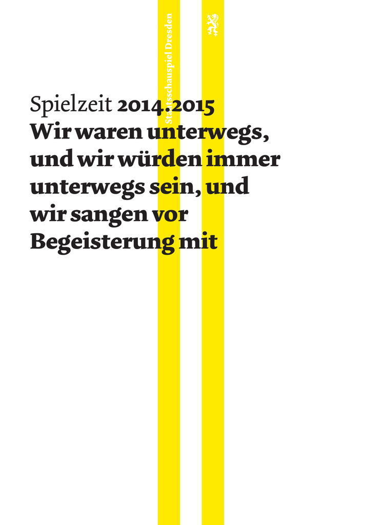 Spielzeitheft 2014.2015