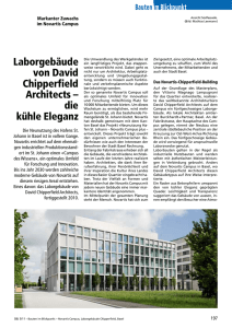 Laborgebäude von David Chipperfield Architects - Robe