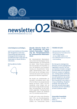 newsletter02 - UniversitätsKlinikum Heidelberg