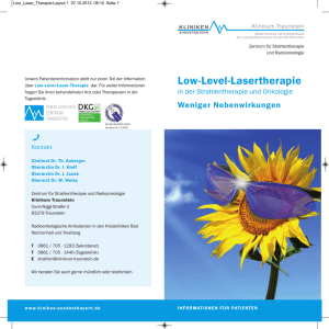 Low-Level-Lasertherapie