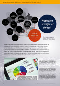 Produktion intelligenter steuern