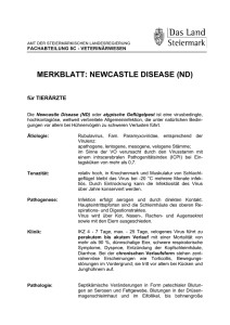 merkblatt: newcastle disease (nd)