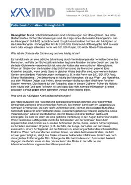 thalassaemia minor eisenmangel