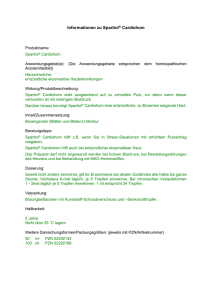 Informationen zu Spartiol® Cardiohom