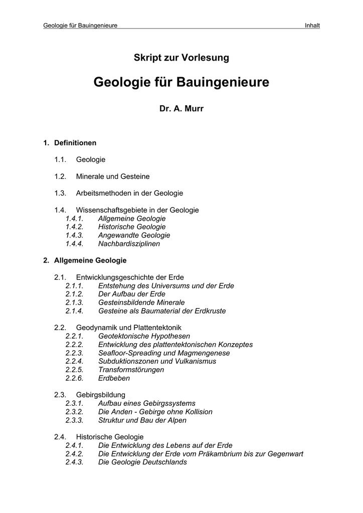 Wie wird relative Datierung in der Geologie verwendet