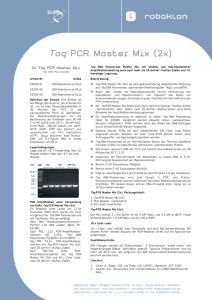 Taq PCR Master Mix (2x)