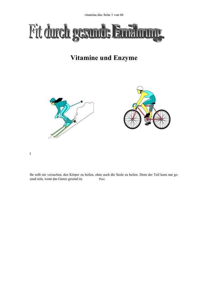Vitamine Und Enzyme