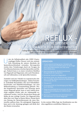 Reflux - Humanomed Zentrum Althofen