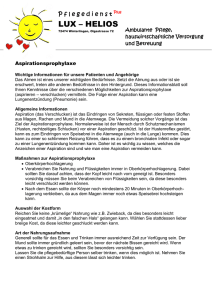 Aspirationsprophylaxe - pflegedienstpluslux