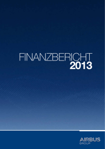 Airbus group Finanzbericht 2013