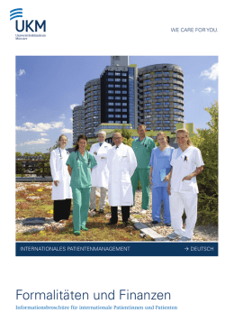 IP Finanzen - Internationale Patienten