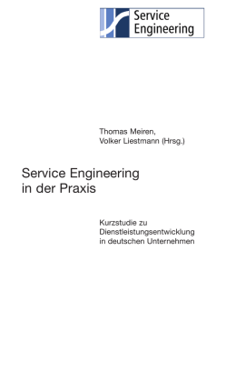 Service Engineering in der Praxis