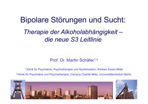 Datierung eines bipolaren Alkoholikers