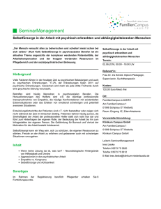 SeminarManagement - FamilienCampus Lausitz