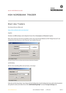 Reference Guide - HSH Nordbank AG