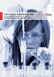 Life Science Solutions by fme
