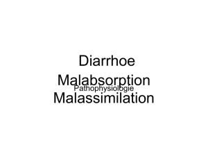 Diarrhoe Malabsorption Malassimilation - UK