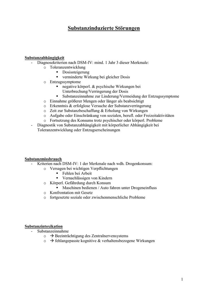 amnestisches syndrom kriterien
