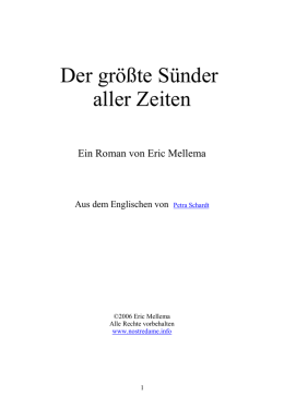 ebook in doc - Nostradamus