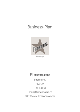 Business-Plan - Credit Suisse
