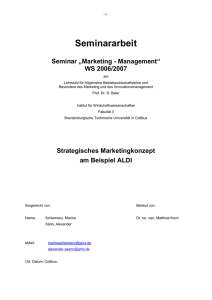 2. Situationsanalyse - Brandenburgische Technische Universität