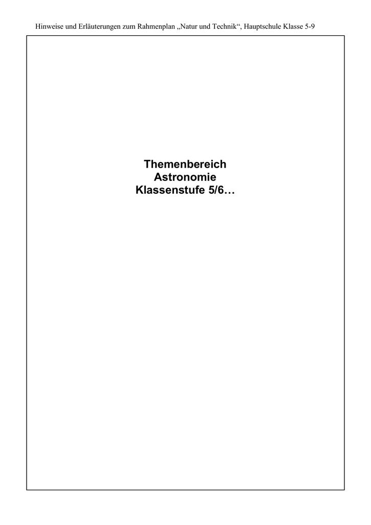 Astronomie - Hamburger Bildungsserver