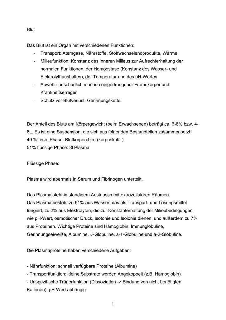 Wunderbar Homöostase Anatomie Und Physiologie Ideen - Anatomie und ...