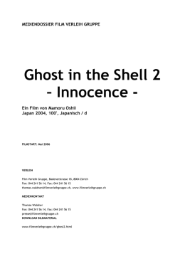 Ghost in the Shell 2 – Innocence