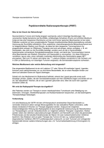 Therapie neuroendokriner Tumore
