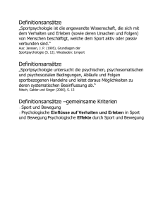 Definitionsansätze