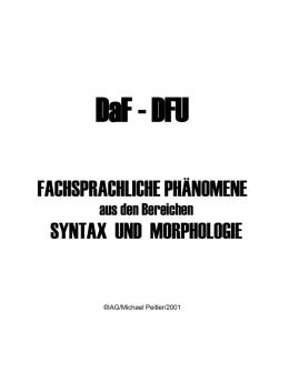 dfu workshop - Nominalisierung Beispiele