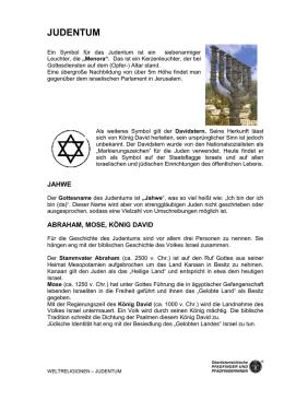 Weltreligionen_judentum