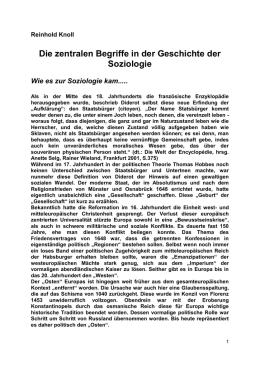Zwei zentrale Begriffe der Soziologie: Struktur und Funktion