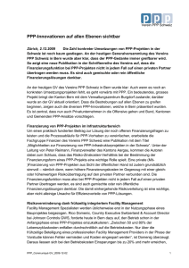 PPP Medienmitteilung GV 02.12.2009