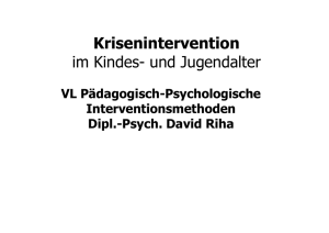 Krisenintervention 1